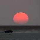 Makgadikgadi Pans, Botswana by Neville Jones