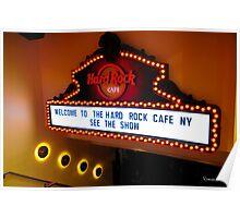 Hard Rock Cafe II Poster