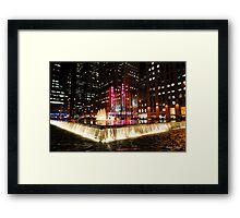Radio City Framed Print