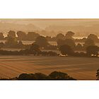 Ivinghoe Beacon Sunrise Panoramic # 3 by Dale Rockell