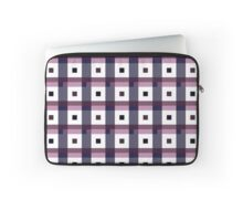 Boxes in Blue & Purple Laptop Sleeve