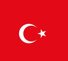 Turkish flag by ensar38