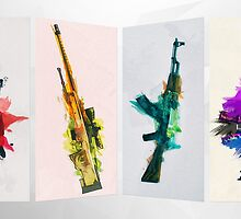 CS:GO Colorful Weapons by LexyLady