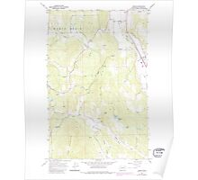 USGS Topo Map Washington State WA Arden 239842 1965 24000 Poster