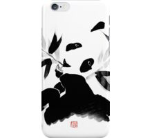 panda lunch iPhone Case/Skin
