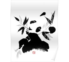 panda lunch Poster