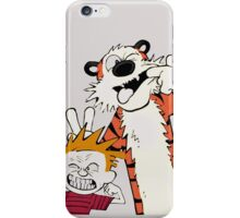 Calvin and hobbes best quality iPhone Case/Skin