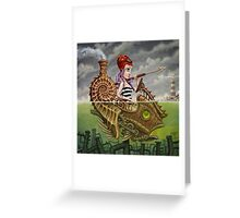 Nautilus Girl Greeting Card