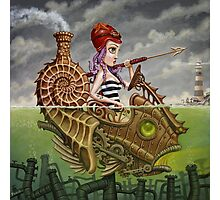 Nautilus Girl Photographic Print