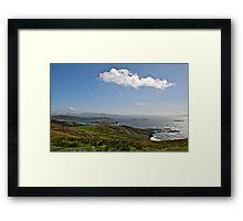 Emerald Isle, County Kerry, Ireland Framed Print