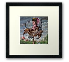 Queen Wasp Framed Print