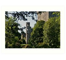 Keepers Watch Tower and Blarney Castle, County Cork, Ireland Art Print