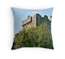 Blarney Castle, County Cork, Ireland Throw Pillow