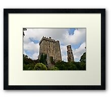 Blarney Castle and the Keepers Watch Tower, County Cork, Ireland Framed Print