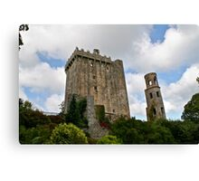 Blarney Castle and the Keepers Watch Tower, County Cork, Ireland Canvas Print