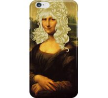 Blonde Mona Lisa  iPhone Case/Skin