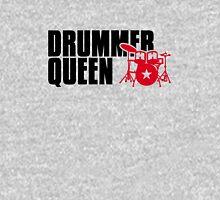 Drummer Queen Womens Fitted T-Shirt