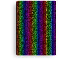 Rainbow Bar - Cubism Canvas Print