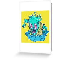 Kumo the Cloud Yokai Greeting Card