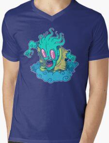 Kumo the Cloud Yokai Mens V-Neck T-Shirt