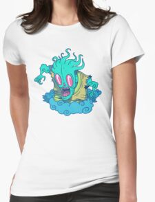 Kumo the Cloud Yokai Womens Fitted T-Shirt