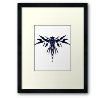 Halo 5: Guardians - Guardian Sentinel Silhouette Design  Framed Print