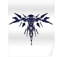 Halo 5: Guardians - Guardian Sentinel Silhouette Design  Poster