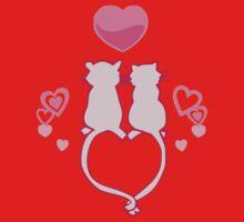 Gerbils In Love One Piece - Long Sleeve