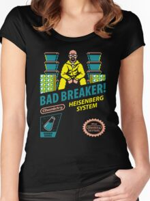 BAD BREAKER! Women's Fitted Scoop T-Shirt