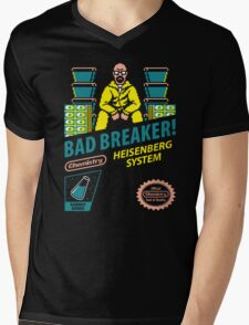 BAD BREAKER! Mens V-Neck T-Shirt