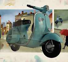 VESPA MEMORIES by Udo Linke