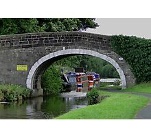 Along The Towpath Photographic Print