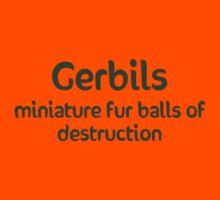 Gerbils Fur Balls of Destruction Kids Tee