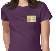 Serenity Prayer Azalea Gentleness Womens Fitted T-Shirt