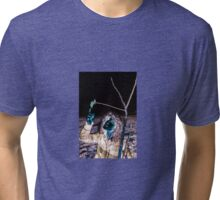 The Thoughtful Alien Tri-blend T-Shirt