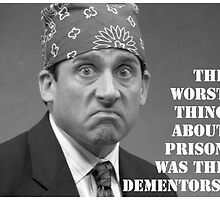 Prison Mike The Office by avazquez