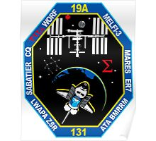 STS-131 Payload Team Patch Poster