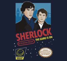 Sherlock NES Game T-Shirt