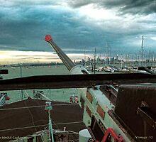 Aft Anti-Aircraft Gun by V1mage