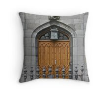 Dublin Castle Door, Dublin, Ireland Throw Pillow