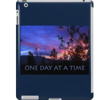 One Day at a Time Spring Sunrise iPad Case/Skin