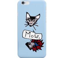 Mow. & Diamond iPhone Case/Skin