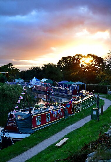 Towpath Sunset by relayer51