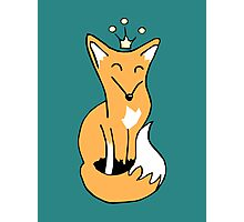Red Fox King Photographic Print