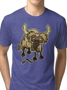 Shaved Beefalo, don't starve Tri-blend T-Shirt