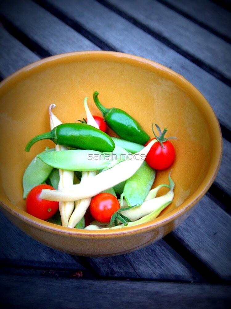 garden vegetables by sarah noce