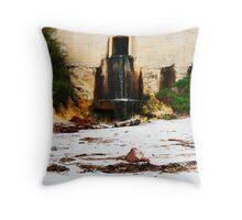 stormwater runoff Throw Pillow