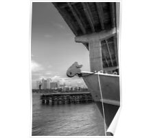 View of Atlantis from under the bridge at Potter's Cay - Nassau, The Bahamas Poster