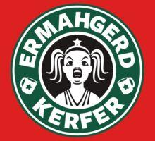 ERMAHGERD, KERFER! Kids Tee
