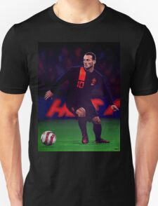 Wesley Sneijder painting T-Shirt